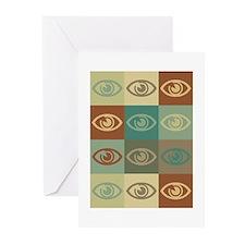 Optometry Pop Art Greeting Cards (Pk of 20)