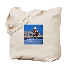 Hotel Del Coronado Holiday Tote Bag