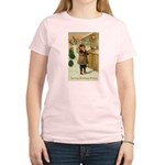 Toy Store at Christmas Women's Light T-Shirt