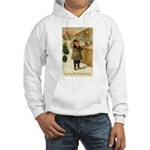 Toy Store at Christmas Hooded Sweatshirt