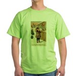 Toy Store at Christmas Green T-Shirt