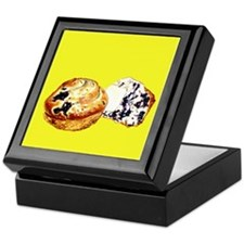Blueberry Muffins Yellow Keepsake Box