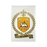 RAIMBEAU Family Crest Rectangle Magnet