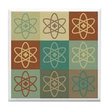 Nuclear Medicine Pop Art Tile Coaster