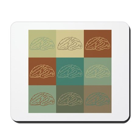 Neuroscience Pop Art Mousepad
