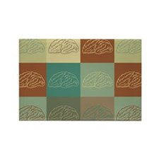 Neuroscience Pop Art Rectangle Magnet (10 pack)