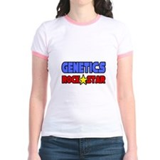 """Genetics Rock Star"" T"