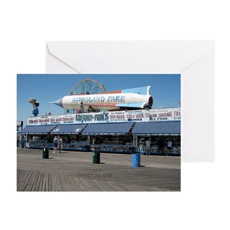 ASTROLAND ROCKET Greeting Cards (Pk of 10)