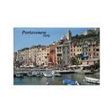 Portovenere Rectangle Magnet