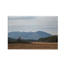 Adirondack Mountain Range Rectangle Magnet (100 pa