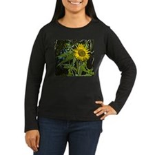 Cute Flowered T-Shirt