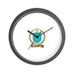RAZILLY Family Crest Wall Clock