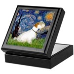 Starry Night/Sealyham L1 Keepsake Box