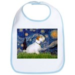 Starry Night/Sealyham L1 Bib