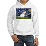 Starry Night/Sealyham L1 Hooded Sweatshirt