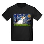Starry Night/Sealyham L1 Kids Dark T-Shirt