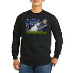 Starry Night/Sealyham L1 Long Sleeve Dark T-Shirt