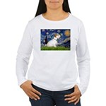 Starry Night/Sealyham L1 Women's Long Sleeve T-Shi