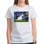 Starry Night/Sealyham L1 Women's T-Shirt