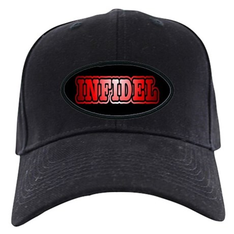 retro infidel baseball cap hat by freethghtmedia