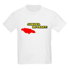 Jamaica Me Crazy! Kids T-Shirt