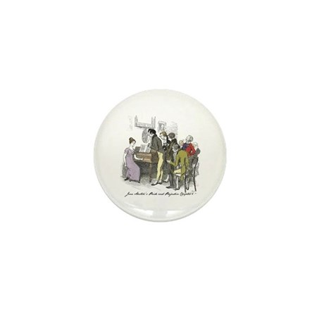 Pride & Prejudice Ch 6, Hugh Mini Button