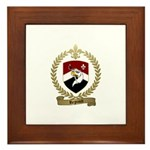REGNAULT Family Crest Framed Tile