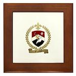 REGNAULT Family Crest Framed Tile