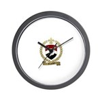 REGNAULT Family Crest Wall Clock