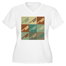 Meat Cutting Pop Art T-Shirt