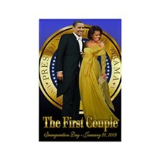 Inaugural Ball Rectangle Magnet (10 pack)