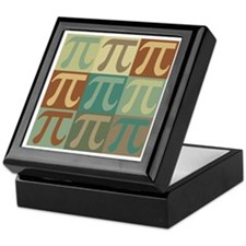 Math Pop Art Keepsake Box