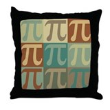 Pi Throw Pillows