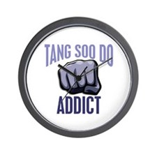 Tang Soo Do Addict Wall Clock