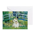 Bridge/Sealyham L2 Greeting Cards (Pk of 20)