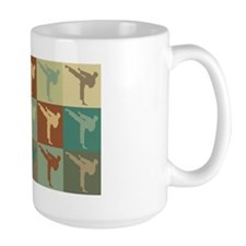 Martial Arts Pop Art Mug