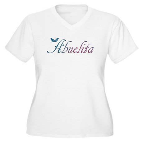 Abuelita Women's Plus Size V-Neck T-Shirt