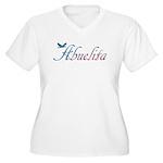 Abuelita Women's Plus Size V-Neck T-Shirt