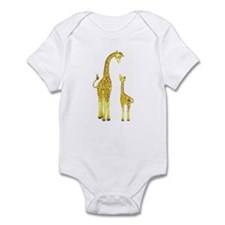 Mom and Baby Giraffe Onesie