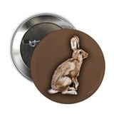 "Curious Rabbit 2.25"" Button (10 pack)"