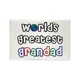 World's Greatest Grandad! Rectangle Magnet