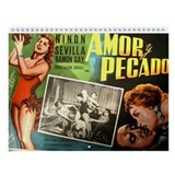 Vintage Mexican Movie Posters Wall Calendar 2013