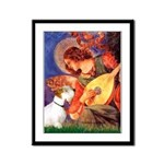 Angel/Sealyham L1 Framed Panel Print