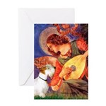 Angel/Sealyham L1 Greeting Card