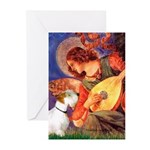 Angel/Sealyham L1 Greeting Cards (Pk of 20)