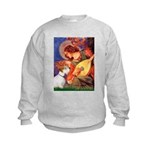 Angel/Sealyham L1 Kids Sweatshirt