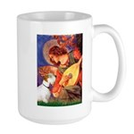 Angel/Sealyham L1 Large Mug