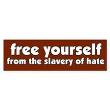 Free Yourself Bumper Bumper Sticker