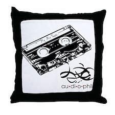 Audiophile Throw Pillow