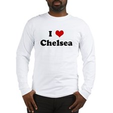 I Love Chelsea Long Sleeve T-Shirt